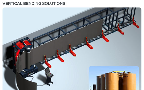 Vertical Roll Bending Machine